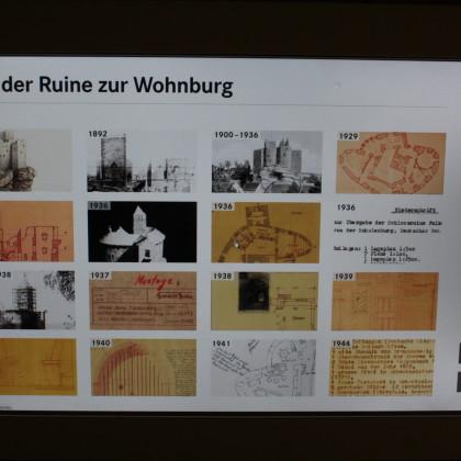 Datailabbildung zur Burggeschichte (Foto: Hans Eibauer)