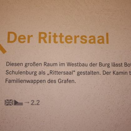 Der Rittersaal war beliebter Aufenthaltsort der gräflichen Famile (Foto: Hans Eibauer)