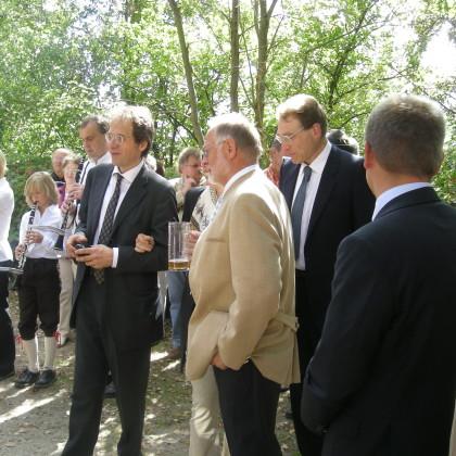 29.8.09_Burgübergabe mit Ehrengästen (Foto: Markt Falkenberg)