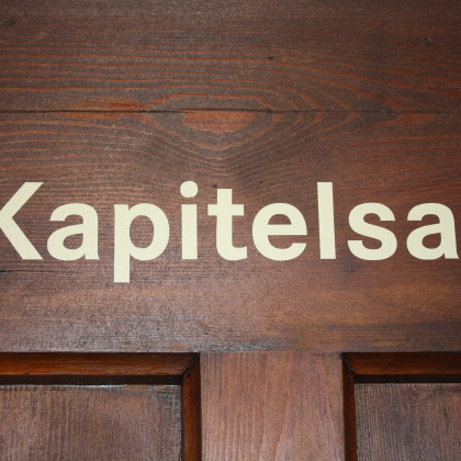Kapitelsaal mit hervorragender Akustik für Konzerte, aber auch für Vorträge und gastronomische Nutzung (Foto: Hans Eibauer)