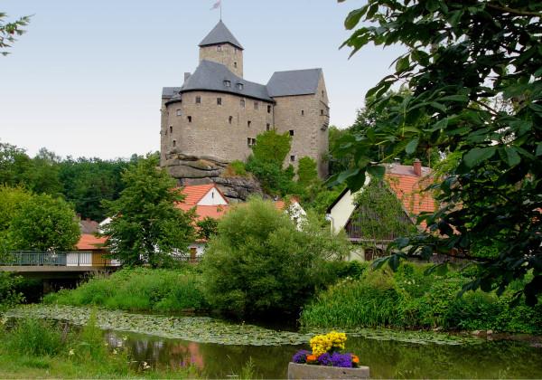 Burg Falkenberg mit Waldnaab