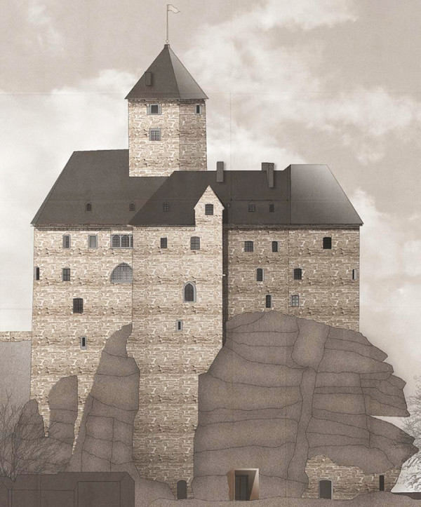 Grafik Burg Falkenberg (Quelle: Brückner & Brückner Architekten GmbH)