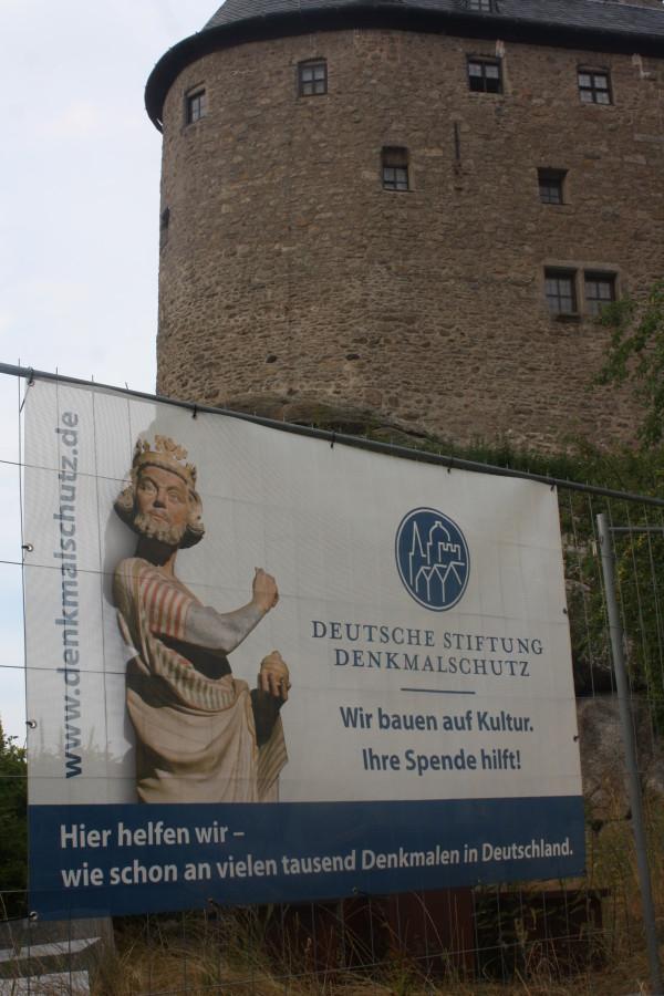 Nur ausgewählte Baudenkmäler werden von der Deutschen Stiftung Denkmalschutz gefördert (Foto Eibauer)