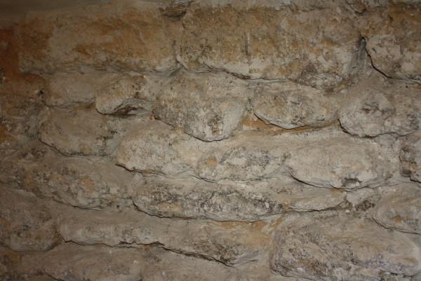 Ältestes Mauerwerk (Foto: Eibauer)