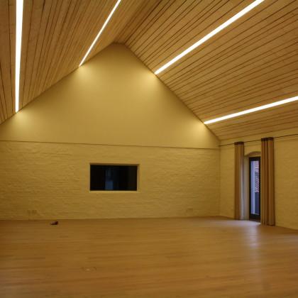 Brauhaussaal ohne Bestuhlung (Foto: Hans Eibauer)