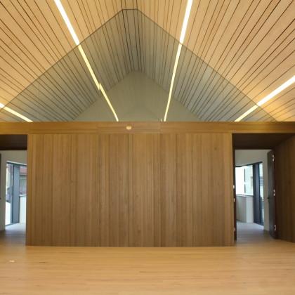Brauhaussaal im OG ohne Bestuhlung (Foto: Hans Eibauer)