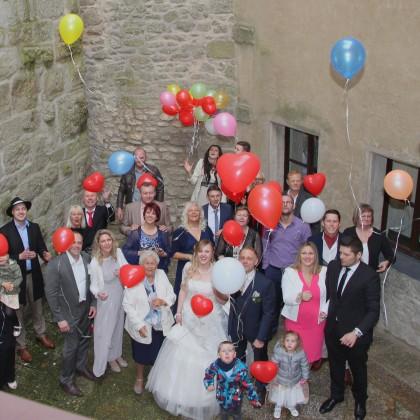 Hochzeiten auf der Burg Falkenberg