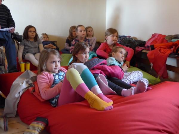Lesenachmittag auf der Burg Falkenberg