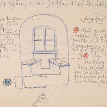 Detailskizze von FWS, 1940