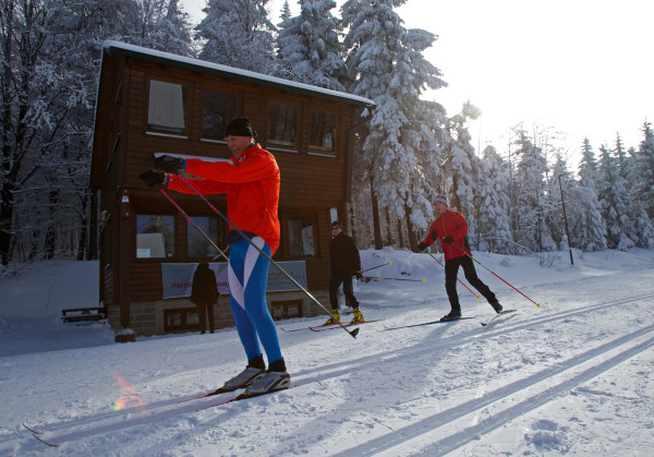 Skilanglaufzentrum Silberhütte (Foto: Touristinformation Oberpfälzer Wald, Lkr. TIR)