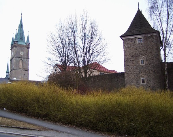 Teil der städtischen Ringmauer