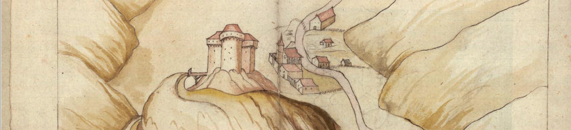 Die Geschichte der Burg in Falkenberg