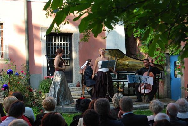 Konzert der Wurzer Sommerkonzerte im Garten (Foto: Tourismuszentrum Oberpfälzer Wald - Lkr. NEW)
