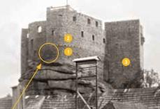 Info im Museum Burg (Reprofoto aus dem Begleitheft)