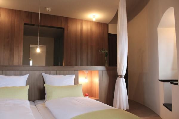 Doppelzimmer Schulenburg - Übernachten in historischen Gemäuern in Bayern