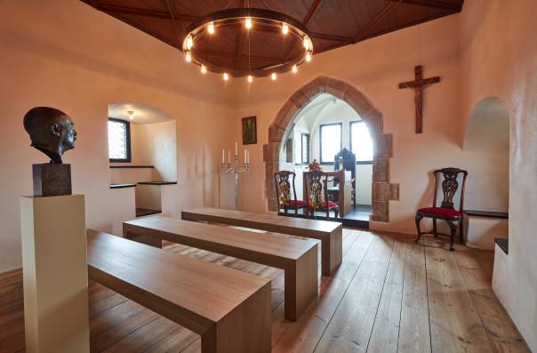 Die Burgkapelle in Falkenberg